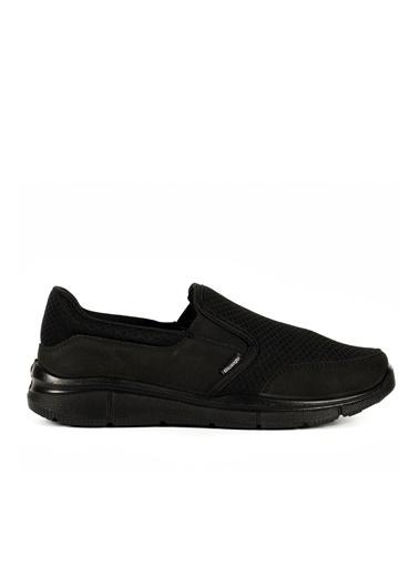 Slazenger Erkek TOURIST G Sneakers SA10LE004-500 Siyah